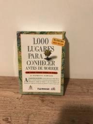 Livro 1000 Lugares Para Conhecer Antres de Morrer