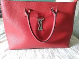Bolsa Santa Lolla Liso Vermelho
