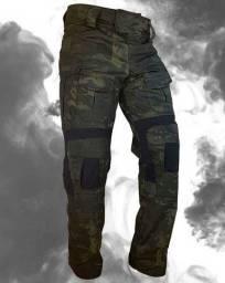 Vendo Calça Tática em Tecido Rip Stop tipo Farda Para esportes, Agentes Segurança