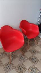 Cadeiras vermelhas !!