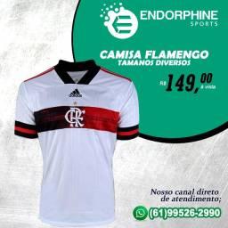Camisa do Flamengo Tamanhos Diversos