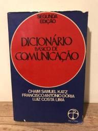 Dicionário Básico de Comunicação, 2a. Edição,Chaim Samuel Katz