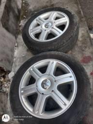 Vende-se jogo de roda 15 do gol Rallye original VW