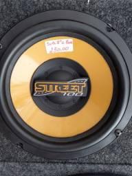 """Sub woofer 8"""" STREET com box novo com garantia instalado em seu"""