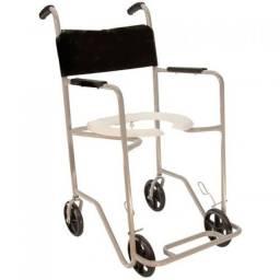 Cadeira para banho em Alumínio - Usuário 80kg