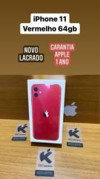 IPhone 11 Vermelho 64gb - Instagram: @kaxu_imports
