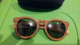 Óculos italianos imitando madeira - coisa mais linda!