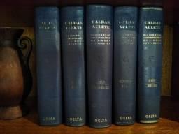 Dicionário Caldas Aulete - 5 volumes 1964