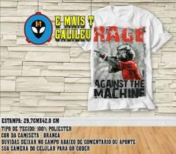 Camisa camiseta da banda Rage Against The Machine banda de rock