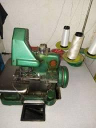 Máquinas overlok semi industrial máquina Singer antiga