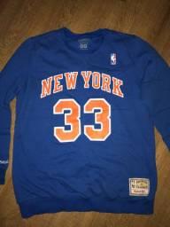Moleton NBA New York Knicks Patrick Ewing Classic Hardwood Original GG
