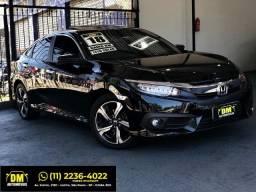 Honda - Civic Touring 1.5 Turbo 2018 Blindado