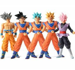 Kit 5 Peças Goku Dragon Ball Action Figure