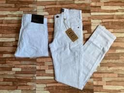 Calças Jeans C/Elastano Masculina