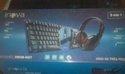 KIT Teclado/Mouse/Headset Gamer