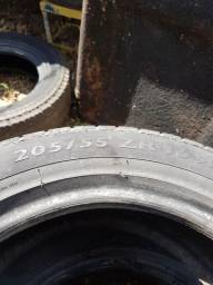4 pneus 205/55/16