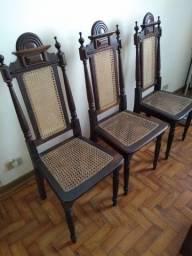Cadeiras colonial de embuia