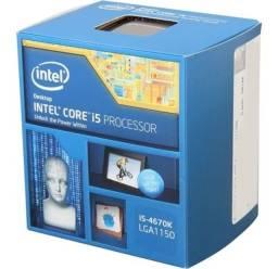 Título do anúncio: Processador I5 4670k usado