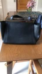 Bolsa de couro preta - Le-Lis-Blanc