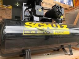 Compressor de Ar Pratic Air CSL 20/150 Monofásico - Schulz