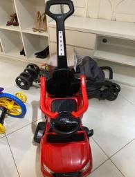 Mini carro Ranger Rover vermelha infantil