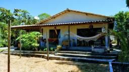 Casa com 2 dormitórios à venda por R$ 250.000 - Coroa Vermelha - Santa Cruz Cabrália/BA