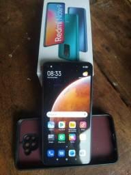 Note 9 tem caixa carregador original, pego celular com volta pra mim