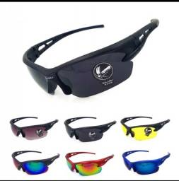 Óculos de sol esportivo com proteção UV