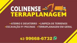 Título do anúncio: Terraplanagem colinense (faça já seu orçamento)