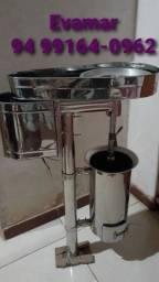 Máquinas batedeiras de açaí  tambor 20/45