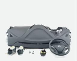 Kit air bag Hyundai hb20 2012 a 2017 completo
