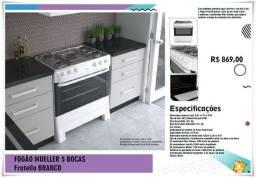 Título do anúncio: Fogão 5 Bocas - Fratellin NOVO ( Sexta Especial )