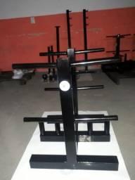 Expositor suporte de anilhas e barras