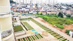 Apartamento com 2 dormitórios à venda, 57 m² por R$ 215.000 - Jardim Campanário - Diadema/