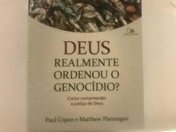 Livro DEUS REALMENTE ORDENOU O GENOCÍDIO?