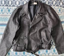 Título do anúncio: Jaqueta de couro legítimo em excelente estado, masculino G
