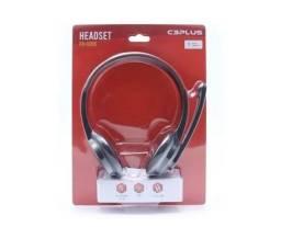 8210 - Fone Com Microfone Preto P2 Ph-02bk C3plus