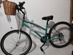 Bicicleta Caloi 700 verde