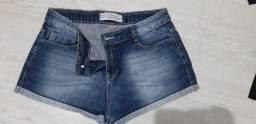 Shorts feminino Mix tamanho 38 - R$ 30,00