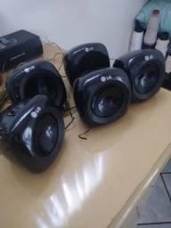 5 caixinhas de som