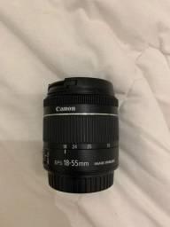 Vendo Lente Canon 18-55