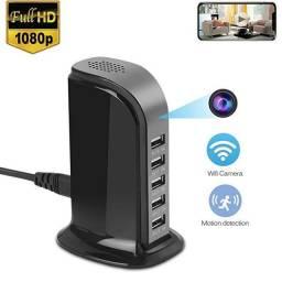 Título do anúncio: Câmera Usb 5 Portas Hd 1080p Wifi Câmera De Segurança Em Casa Carregador Rápido Cam