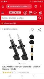 Vendo kit amortecedor do uno 2000 e diante 300 reais aceito cartao
