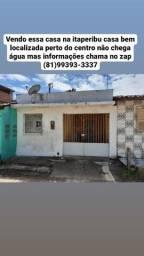 Título do anúncio: Vendo essa casa no Bairro itaperibu Barreiros