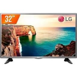 Tv Led 32? Hd Lg 32lt330hbsb 2 Hdmi 1 Usb Pro Conversor Digital - Bivolt