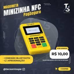 Minizinha NFC PagSeguro Bluetooth c/Aproximação