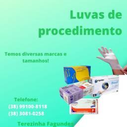 Luvas de procedimento
