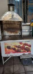 Vendo carrinho de churrasco/uma estufa de salgado/uma chapa