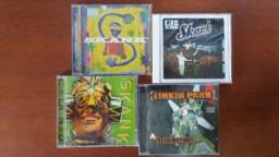 Kit 4 CDs Skank e Linkin Park