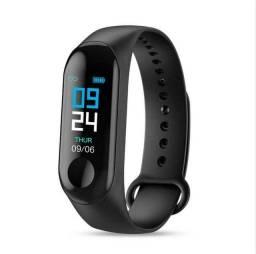 Relógio inteligente Pressão Arterial Monitor de frequência cardíaca Pulseira Android